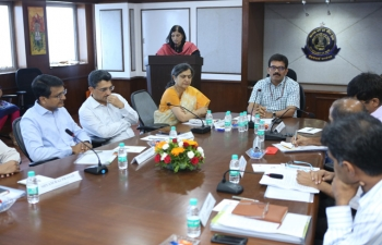 Meeting with Members of State-Screening Committee and executive Commissioners, Commissioners (Audit) of GST Mumbai held on 04.06.2018 at Mumbai