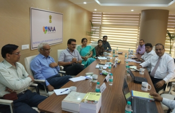 Interactive session with 'The members of Institute of Cost Accountants of India' held on 06.06.2018 at NAA Office.