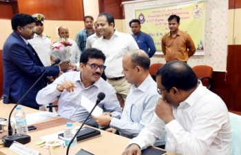 Out-reach Programme and Review Meeting of  Anti-Profiteering efforts held in Bhubaneswar on  08th April 2019